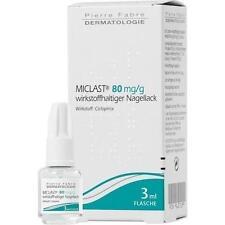 MICLAST 80 mg/g wirkstoffhaltiger Nagellack 3 ml PZN 9637199