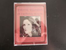 On Emotional Healing by Marianne Williamson~Lectures~1996 Audio Cassette~New