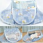 Baby Kid Travel Folding Bed Crib Canopy Mosquito Net Netting Tent Playpen PT97