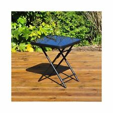 Kingfisher Folding Drinks Side Patio Table