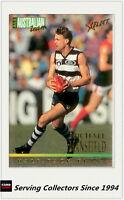 1995 Select AFL Series 1 All Australia Team Card AA10 Michael Mansfield(Geelong)