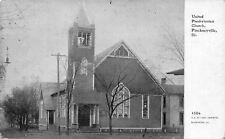 Pinckneyville Illinois~United Presbyterian Church~1914 CU Williams Photoette PC