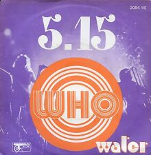 7inch THE WHO 5.15 FRANCE 1973 EX