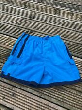 "Speedo XXLARGE JNR  YOUTHS  junior Swim SHORTS lined 15"" Leg  28-30"" BLUE"