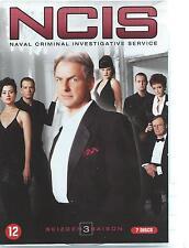 7 DVD set NCIS  saison 3 - FRANCAIS / ENG /ITAL / DEU region 2