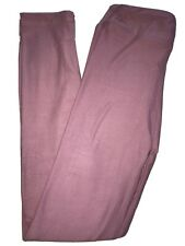 LuLaRoe Kids Leggings L/XL Large XLarge NWT Solid Pinkish Purple