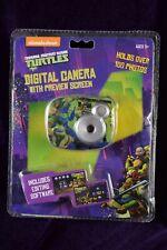 Nickelodeon Teenage Mutant Ninja Turtles Kids Digital Camera w/Preview Screen