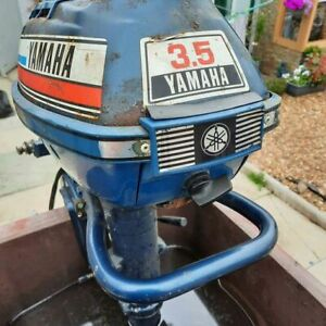YAMAHA OUTBOARD ENGINE 3.5HP BOAT ENGINE OUTBOARD MOTOR RIB BOAT DINGHY