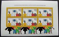 Bund Kleinbogen 1472 Block 21 Düsseldorf. 6x100+50. ** postfrisch. Mi. 22,00 €.