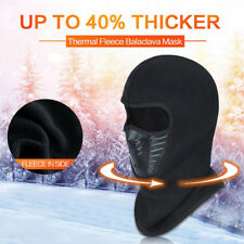 Fleece Winter Balaclava Ski Motorcycle Neck Face Mask Hood Hat Windproof Cap