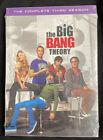 The Big Bang Theory: The Complete Third Season (DVD, 2009)