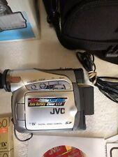 JVC GR-D275U Digital Camcorder Mini DV tape 25X Optical TESTED Exc. Condition!