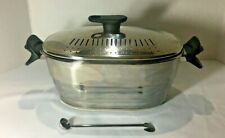Stainless Steel Soup Tureen, Oval