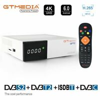 GTMEDIA GTC TV BOX Android 6.0 Amlogic Quad Core WIFI 4K DVB-S2/T2 Media TV CAJA