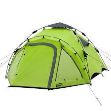 Campingzelt QEEDO Quick Oak 3 Sekundenzelt 3 Personen Zelt Wurfzelt Pop Up Zelt
