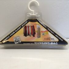 Original Space Bag Hanging Vacuum Seal Compress 10 Garments