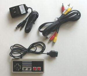 US SELLER NES Original NES Hookup Kit AC Adapter Power Cord AV Cable Controller