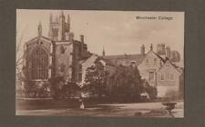 Wichester College. View. Building. Old Postcard.   L.202