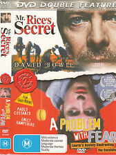 Mr Rice's Secret-2000-David Bowie/A Problem With Fear-2003-P Costanzo- Movie-DVD