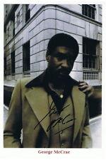 ORIGINAL Autogramm von George McCrae. pers. gesammelt. 100% Echt. ( I-P )