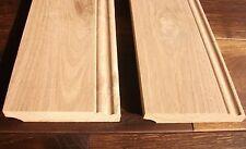A Klasse Profil geschweift Fußleisten Sockelleiste Leiste Birke massiv 20x52 mm