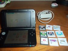 Nintendo 3DS XL Super Smash Bros Limited Edition (Red) charger games