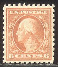 U.S. #429 Mint Vf Nh - 6c Orange, P10 ($105)