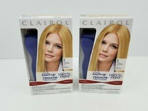 Clairol Nice n Easy Root Touch-Up Permanent Color 9 Light Blonde (Pack of 2)