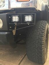 HUMMER H2 CUSTOM L.E.D. LIGHT BRACKETS USA MADE