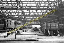 Leith Central Railway Station Photo. North British Railway. Edinburgh Line. (1)