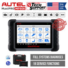Autel MaxiPRO MP808 OE-level OBD2 Scanner IMMO Key Coding Professional Scan Tool