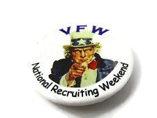 VFW Pin Button National Recruiting Weekend
