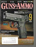 Guns & Ammo Handguns Magazine June 2012 Smith & Wesson's Smallest & Lightest 9