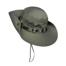 Men/Women Bucket Cap Outdoor Boonie Hat Fishing Climbing Sun Hat  100% Polyester