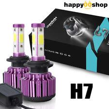 4Side H11 H8 LED Headlight Bulb Light 72W For Hi/Lo Beam 8000LM 6000K CANBUS Kit