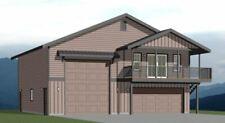 40x40 Apartment with 2-Car 1-RV Garage - PDF FloorPlan - 964 sqft - Model 1E