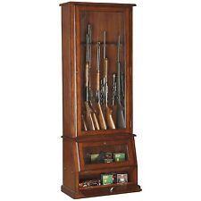 12-Gun  Slanted Base Cabinet Safe Rifle Shotgun Pistol, NEW, FREE SHIPPING