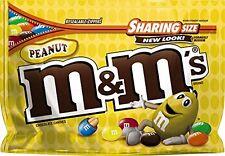 NEW SEALED PEANUT M&M'S MILK CHOCOLATE CANDIES SHARING SIZE 10.70 OZ BAG MARS
