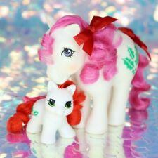 Vintage My Little Pony December Birthflower HOLLY & LIL HOLLY HQG1C G1 MLP BO027
