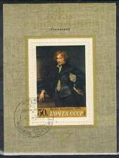 CCCP / USSR gestempeld 1972 Blok 78 - Van Dyck zelfportret
