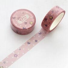 1.5cm Wide Lovely Pink Unicorn Sky Cartoon Washi Tape DIY Scrapbooking Sticker