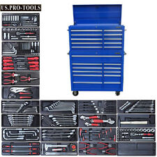 268 US PRO Tool Chest Box Snap It Up cabinet toolbox + tools FINANCE AVAILABLE !