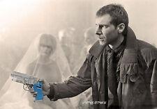 Limited HARRISON FORD BLADE RUNNER Deckard Blaster Water gun Clear blue grips