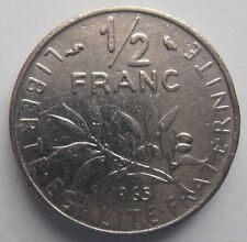 FRANCE 1/2 FRANC 1965