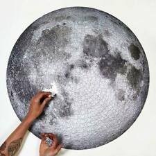 1000 Pieces Adult Difficult Circular Jigsaw Puzzle -MOON TR