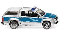 #031147 - Wiking Polizei - VW Amarok GP Comfortline - 1:87