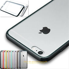 Clear Transparent TPU SILICONE Hard Gel Bumper Cover Case For IPHONE 4s 5s 6 6s
