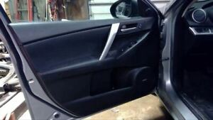 2012 12 Mazda 3 Left Front Driver Interior Door Trim Panel Leather 57986