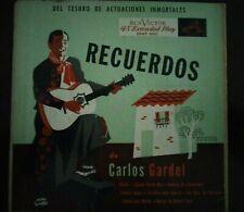 """Carlos Gardel - Recuerdos De Carlos Gardel(2×Vinyl, 7"""", 45 RPM, US RCA EPBT-3020"""