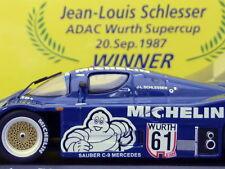 1/43 Minichamps SAUBER MERCEDES C9 #61 WINNER SUPERCUP 1987 - MICHELIN EDITION